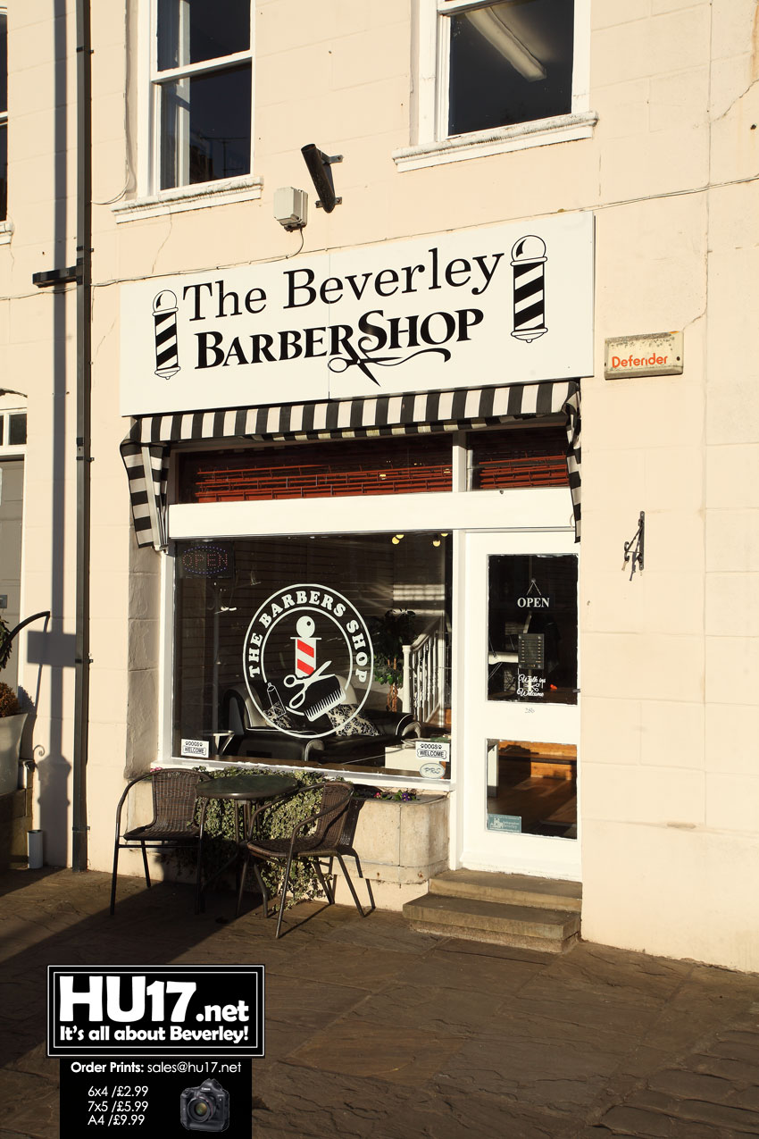 The Beverley Barber Shop 28B North Bar Within, Beverley, HU17 8DL